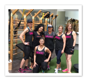 Our Women's Strength Training Group at the Gym