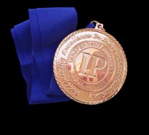 bronze IPPY award medal