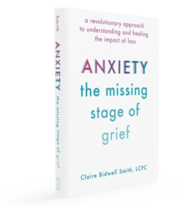 Book coverL anxiety the missing stages of grief