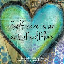 ~self care is an act of self love~ written in a heart